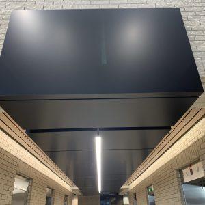 Approx. 1,266 sq. ft. FR Core Alpolic ACM - Colour: TOB BLACK