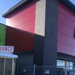 Approx. 1,400 sq. ft. FR Core Reynobond ACM - Colour: EASTMAN RED